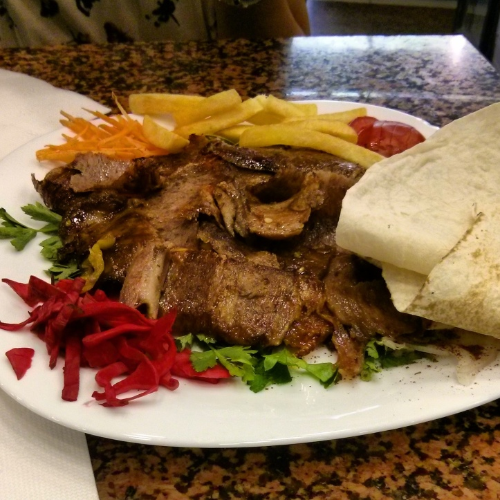 Amongst the several Doner meals we had while in Turkey. Couldn't get enough of it!