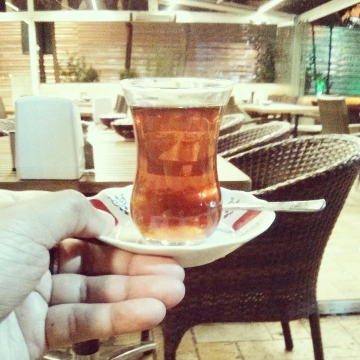 Turkish Tea, on the eve of Eid.