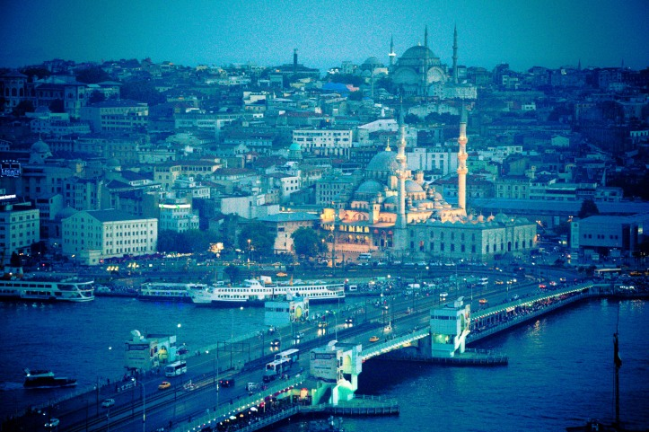 As the sun began to set, the beauty of Istanbul only got deeper.