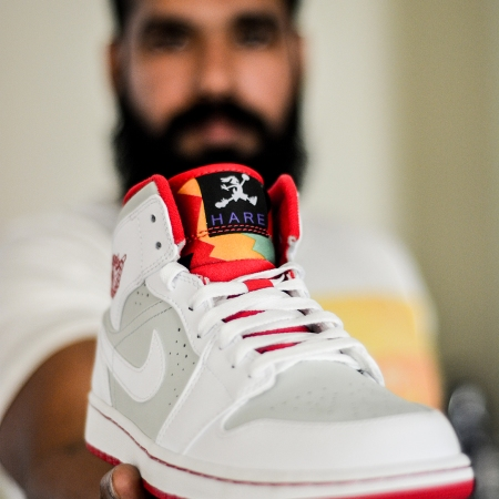 Nike Air Jordan 1 Retro Space Jam Hare Jordan