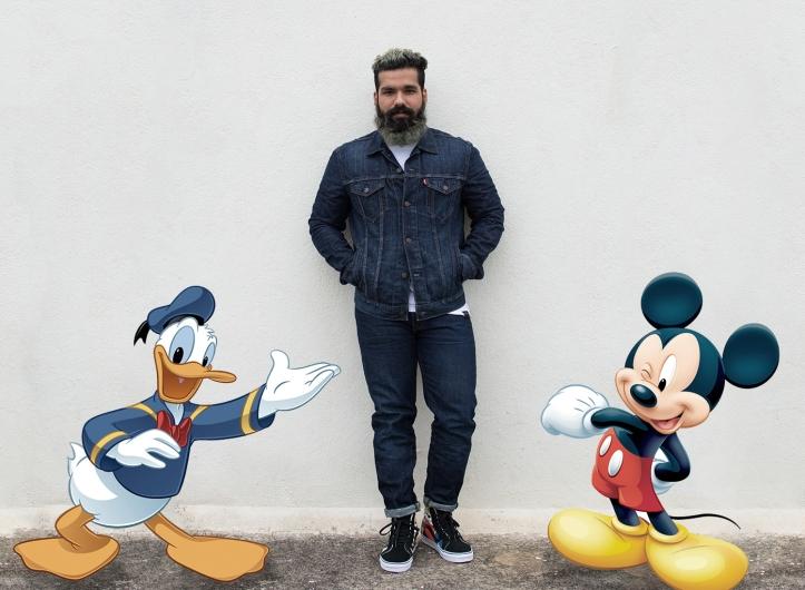 Disney Vans Levi's Denim on Denim