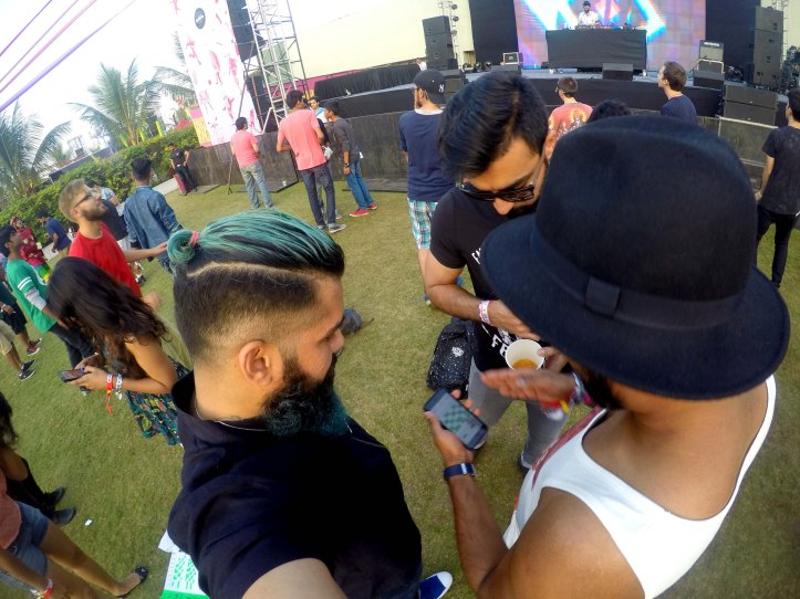 Music Festival GoPro Shots