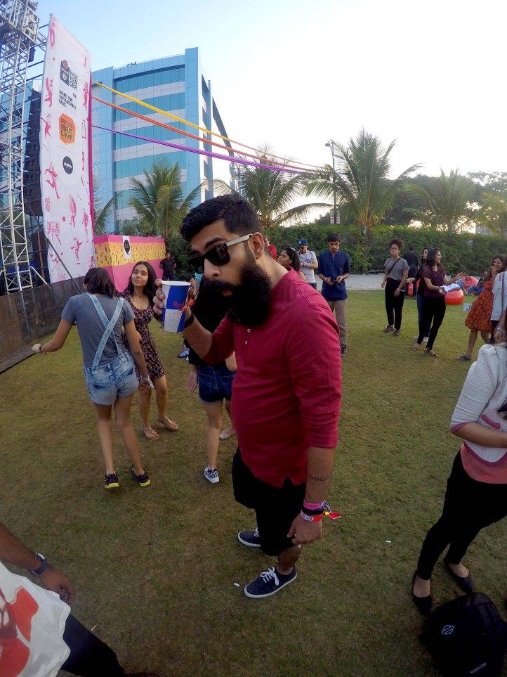 Music Festival Beard Style