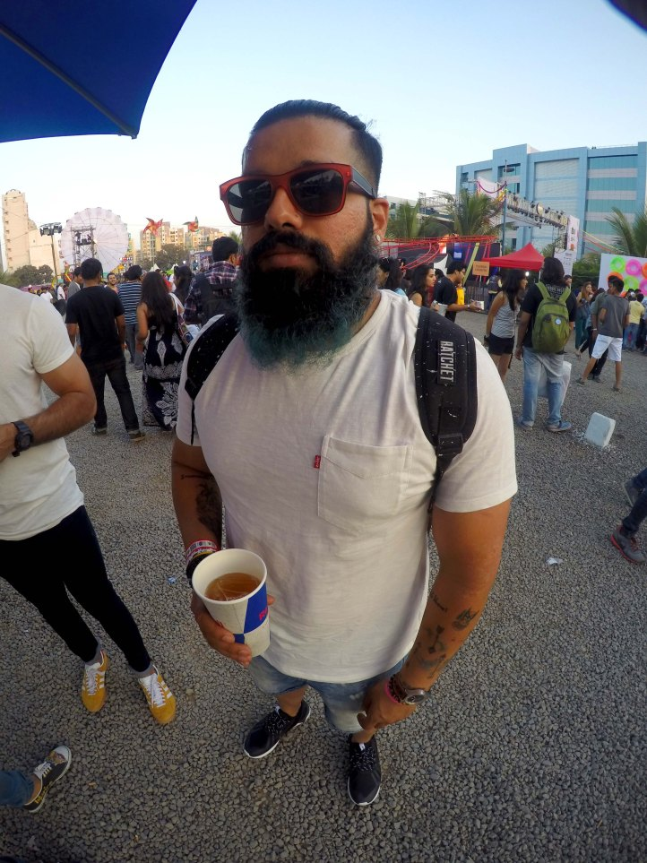 Music Festival Beard Gang
