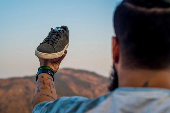 Sneaker Hand Puma Suede