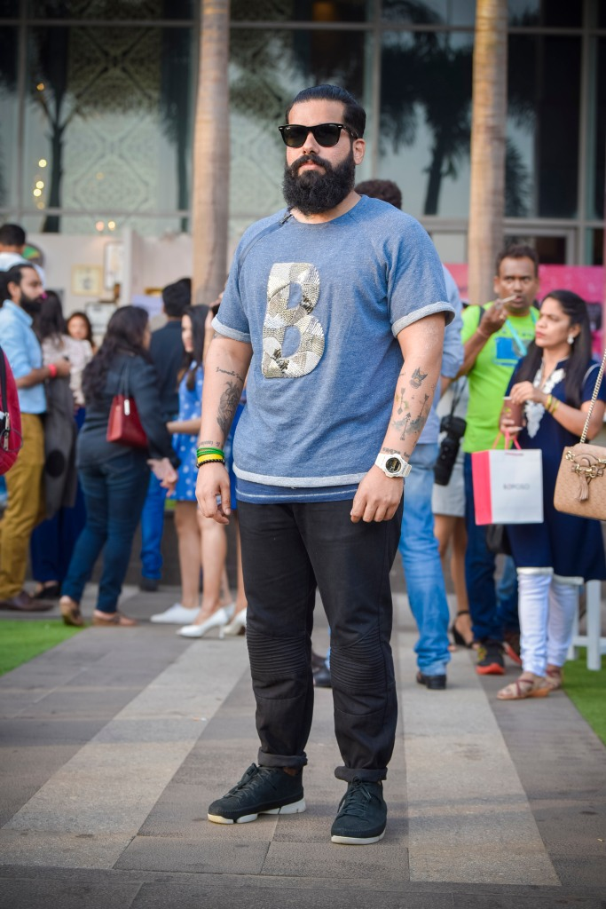 Lakme Fashion Week Street Style Bowties and Bones