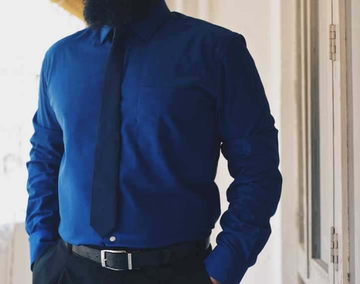 Arrow Office Wear Shirts Blue