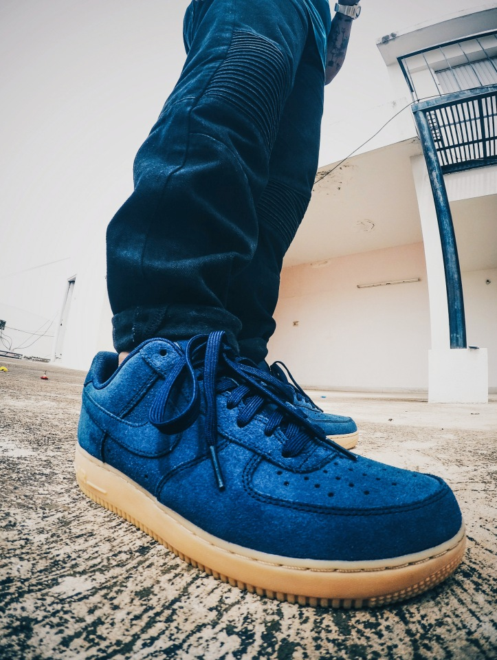 Nike Air Force 1 Suede Gum