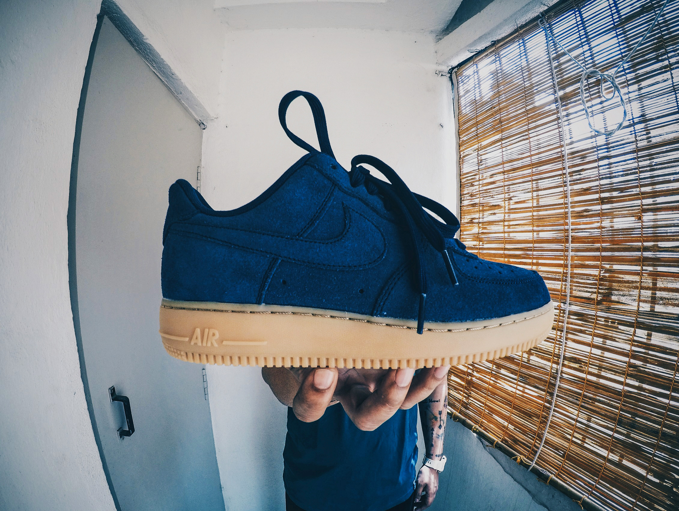 Nike Air Force 1 Suede Gum