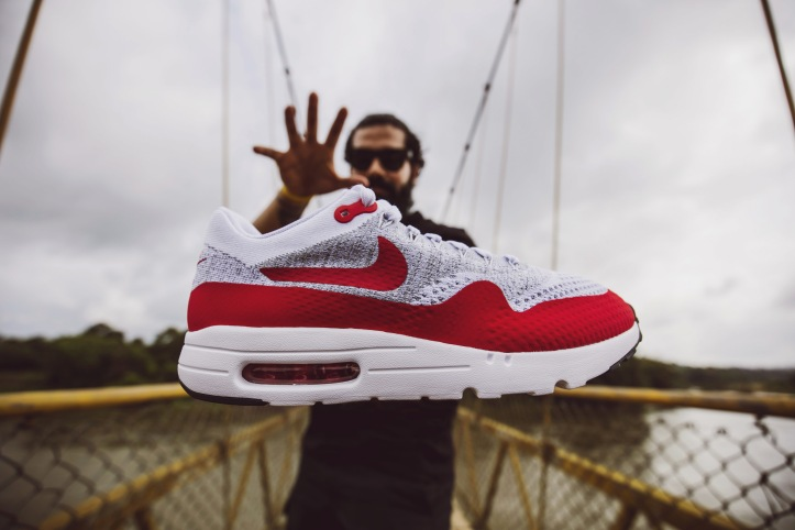 new arrival da923 8c09a Nike Air Max 1 Ultra Flyknit Sport Red OG