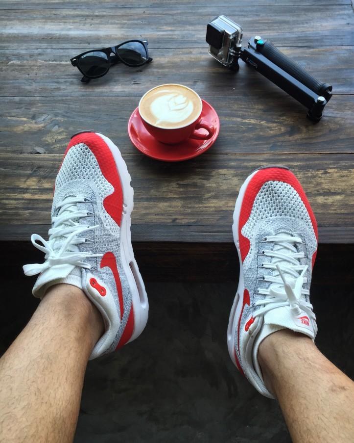 Nike Air Max 1 Ultra Flyknit Sport Red OG
