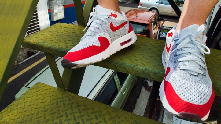 69ae18fc0063c Nike Air Max 1 Ultra Flyknit – OG Sport Red – bowties and bones