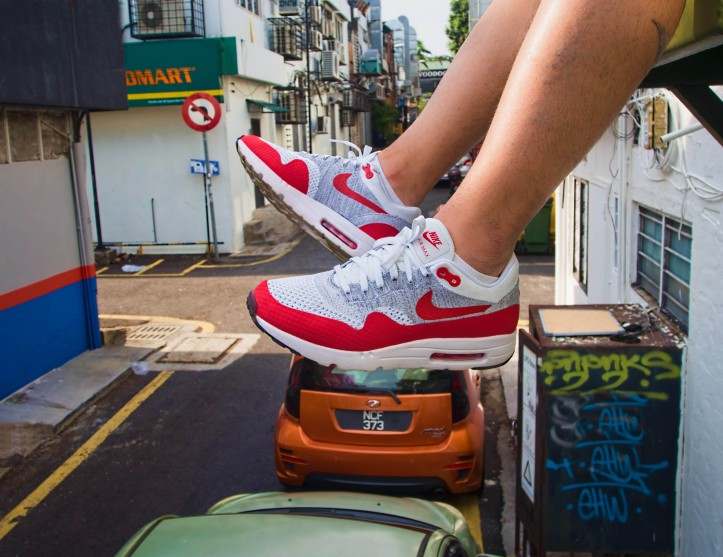 Nike Air Max 1 Ultra Flyknit Sport Red OG