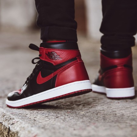 Air Jordan 1 Bred Banned Retro Jumpman 23