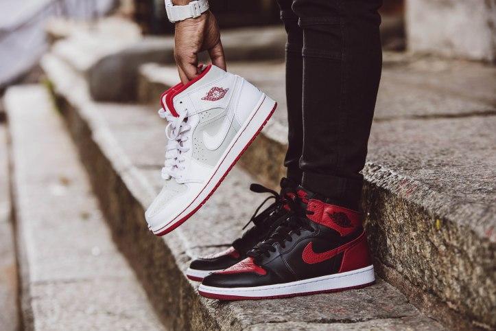 Nike Air Jordan 1 Bred – Up Close and Review – bowties and bones fe99f2db0