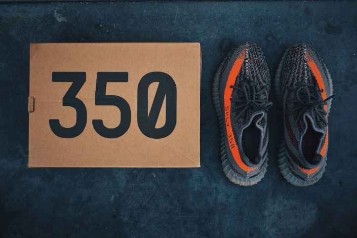 See How There The The Adidas Yeezy Boost 350 V2 Beluga Looks On Feet