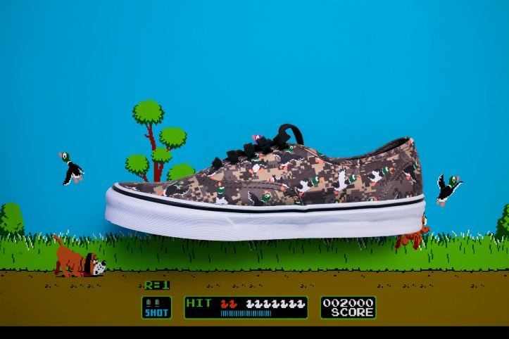 Nintendo Vans Authentic Duck Hunt