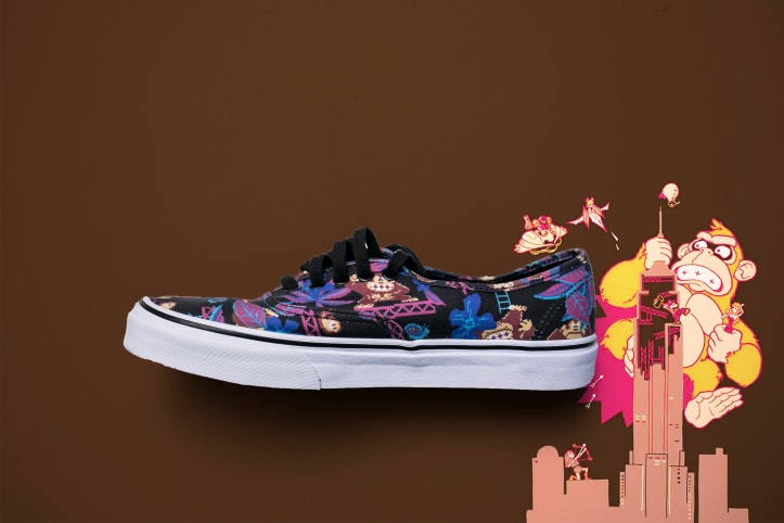 Nintendo Vans Authentic Donkey Kong