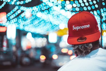 Supreme New Era Hat