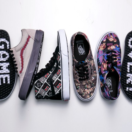 Nintendo Vans Collaboration