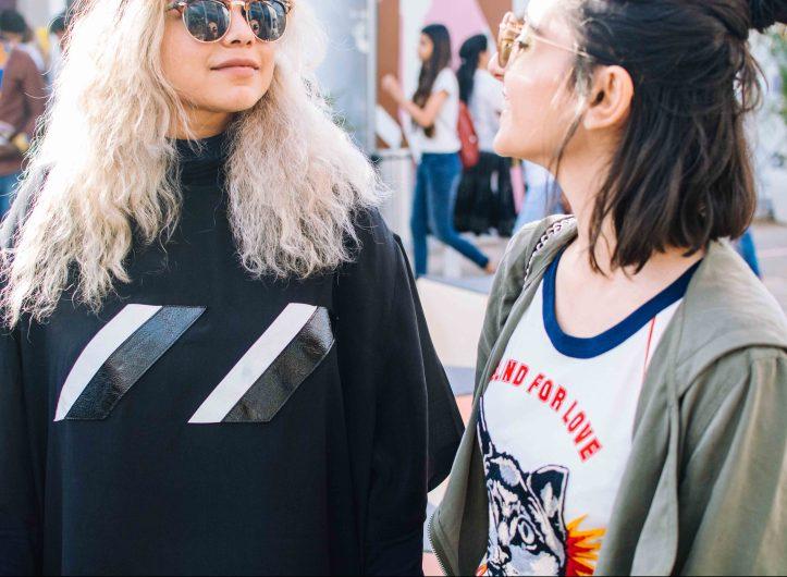 Amazon India Fashion Week Street Style