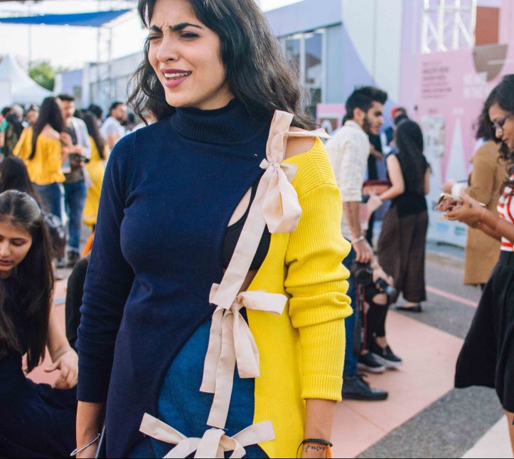 Streetstyle at Indian Fashion Week
