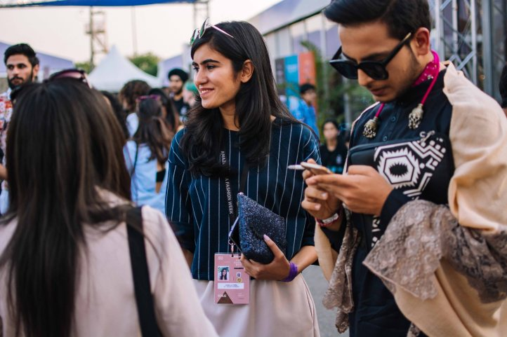 Street Style at Amazon India Fashion Week