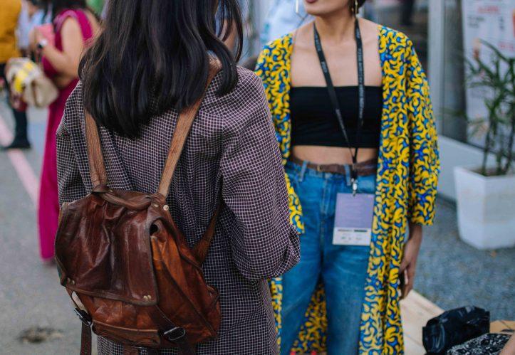 Street Style at Amazon India Fashion Week
