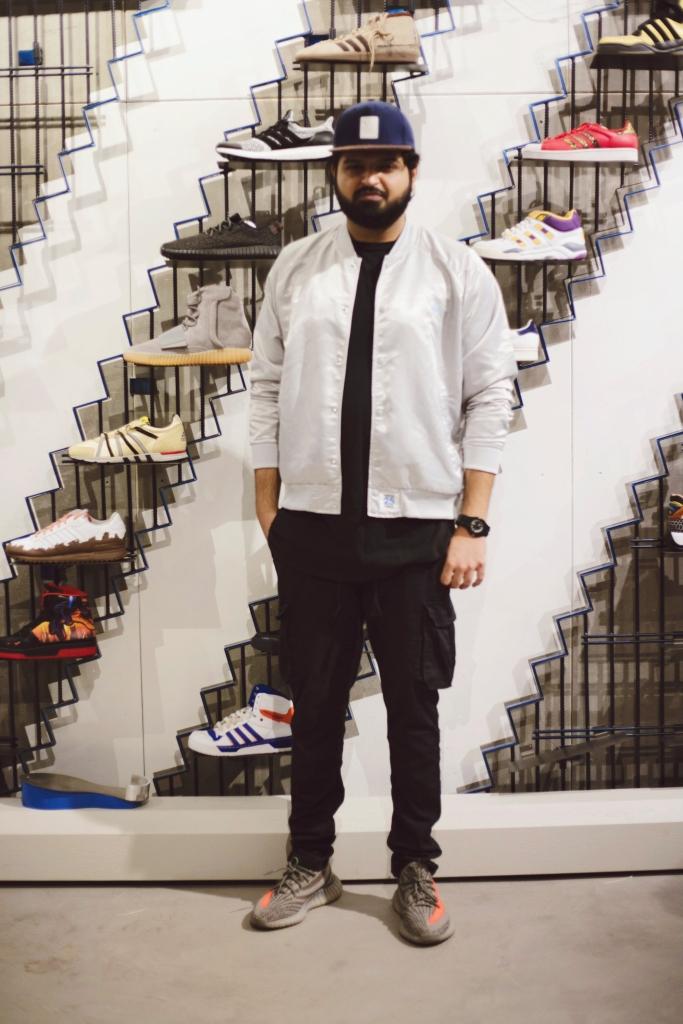 Siddhant Shetty Sneakerhead