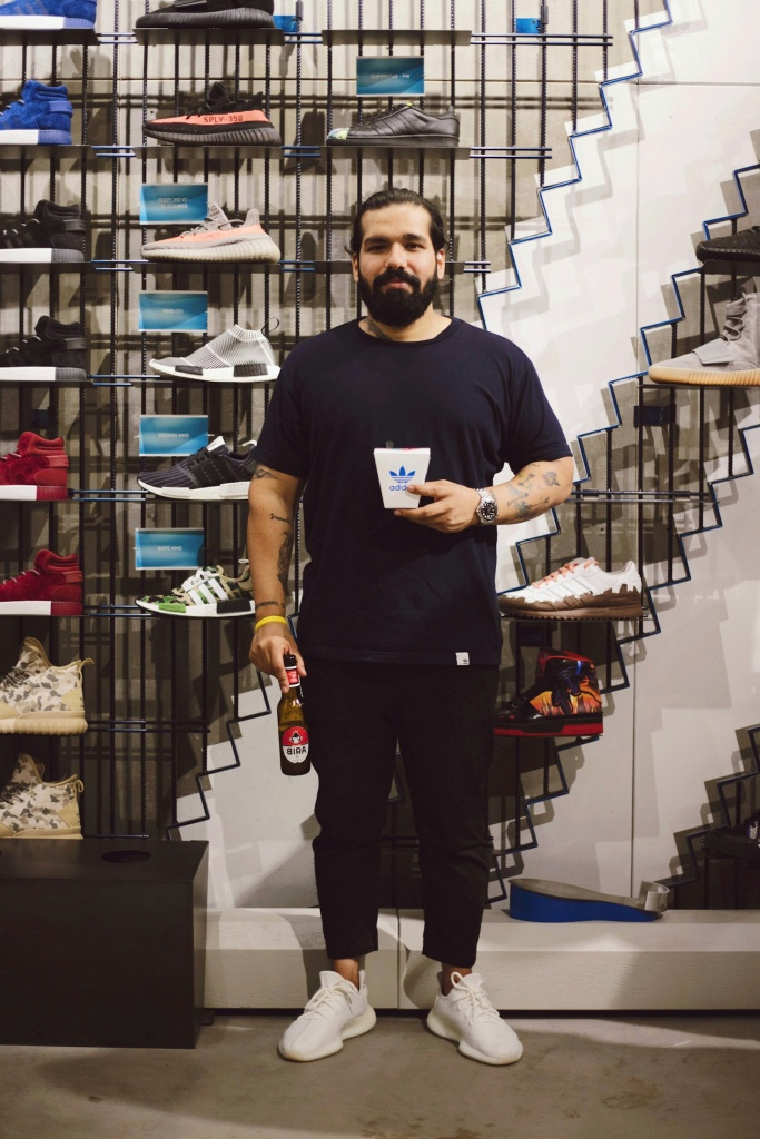 Indian Sneaker and Streetwear Infuencer