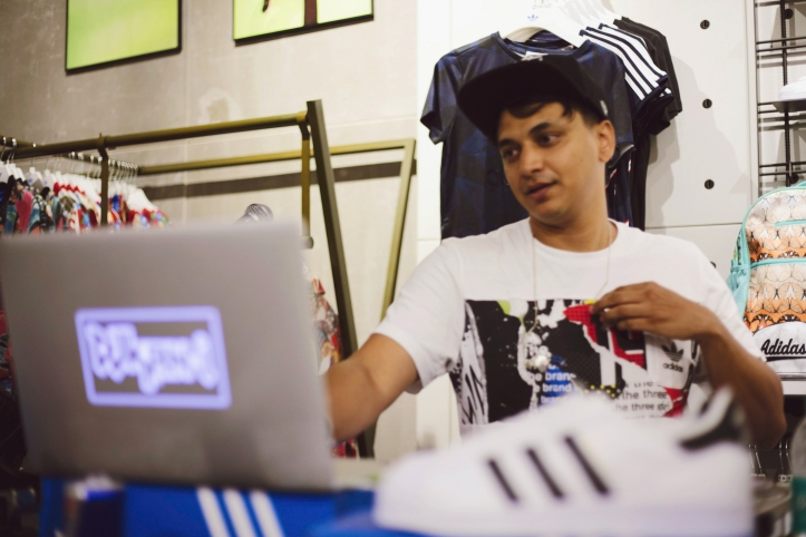 adidas Originals Launch Party India
