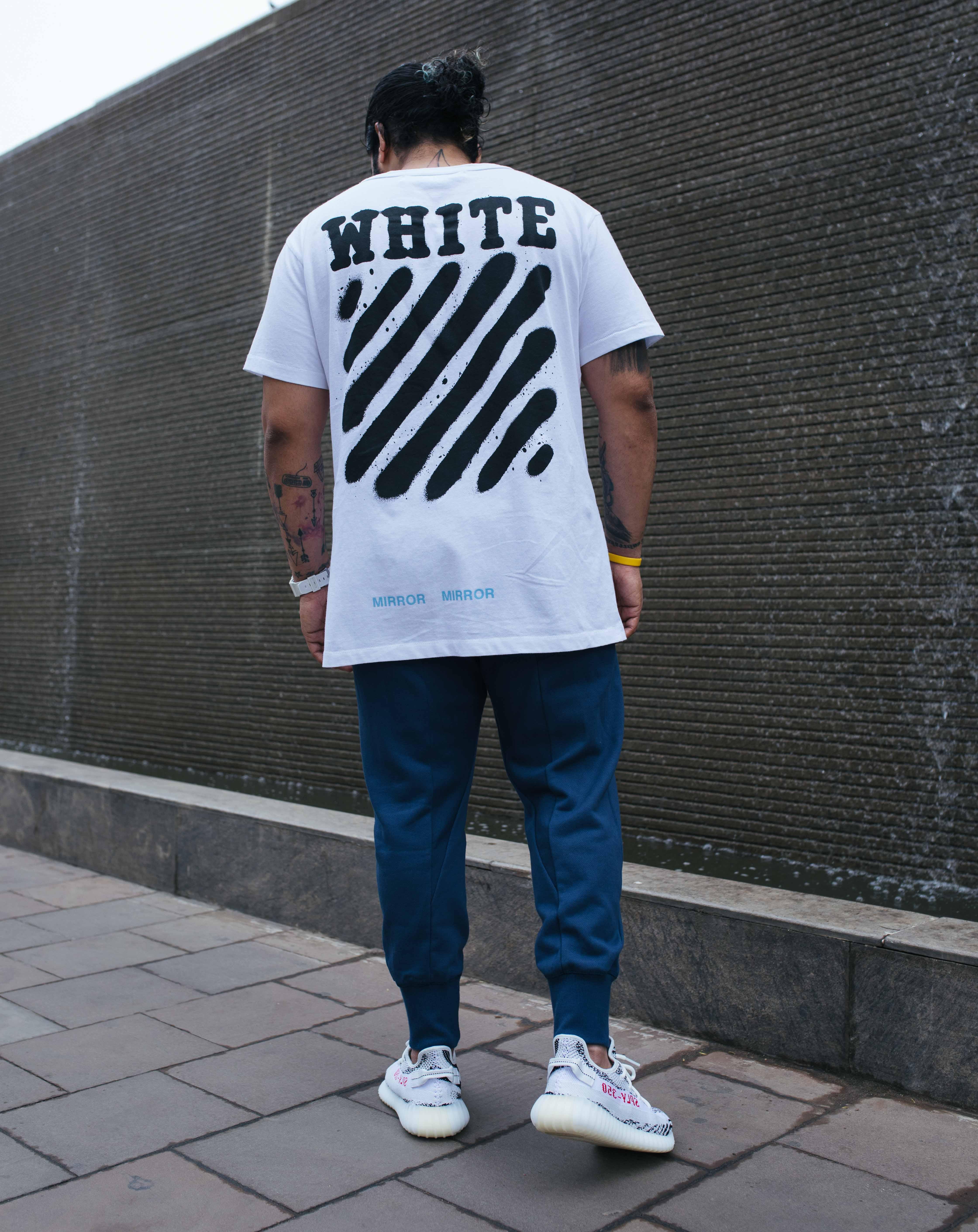 OFF-WHITE Tee, XBYO Joggers, G Shock
