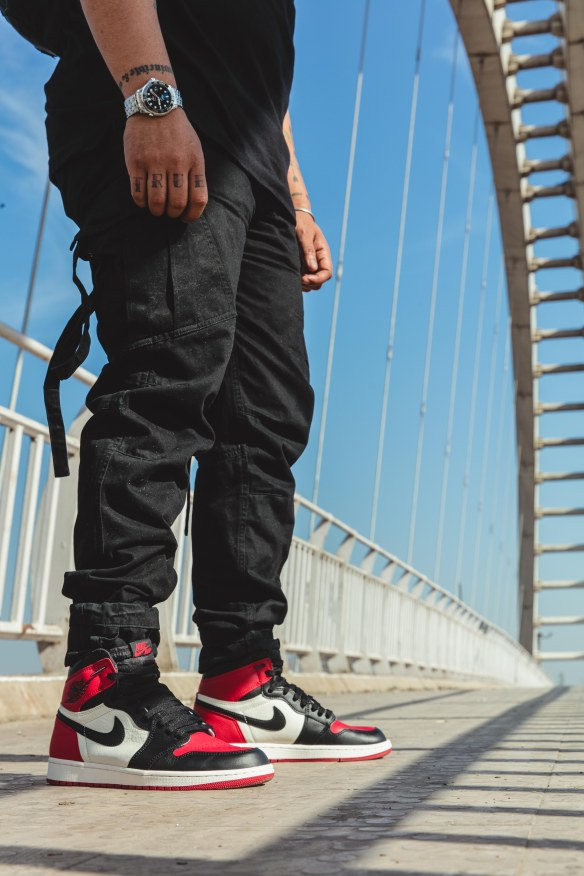 detailed pictures united states closer at Streetwear Fit Of The Day – Air Jordan 1 Retro Bred Toe + ...