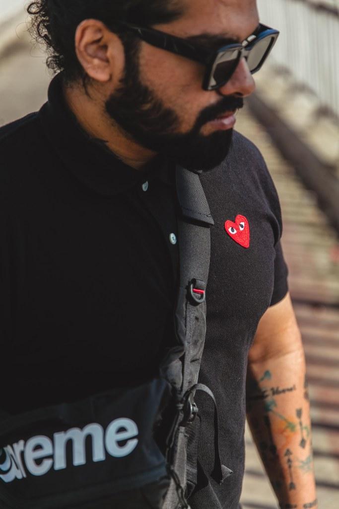 CDG Red Heart Tee Shirt