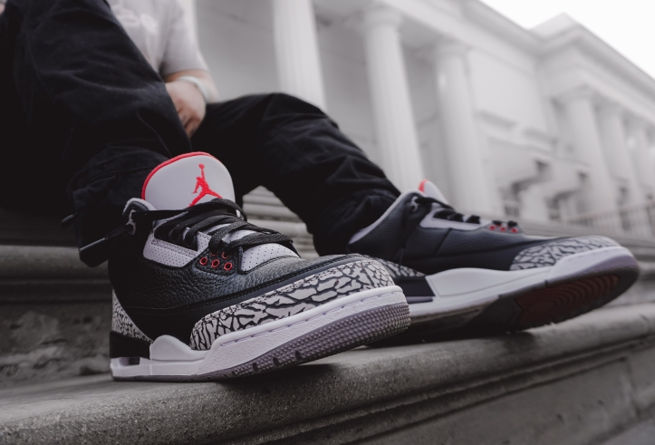 Tinker Hatfield Jordan 3 Black Cement