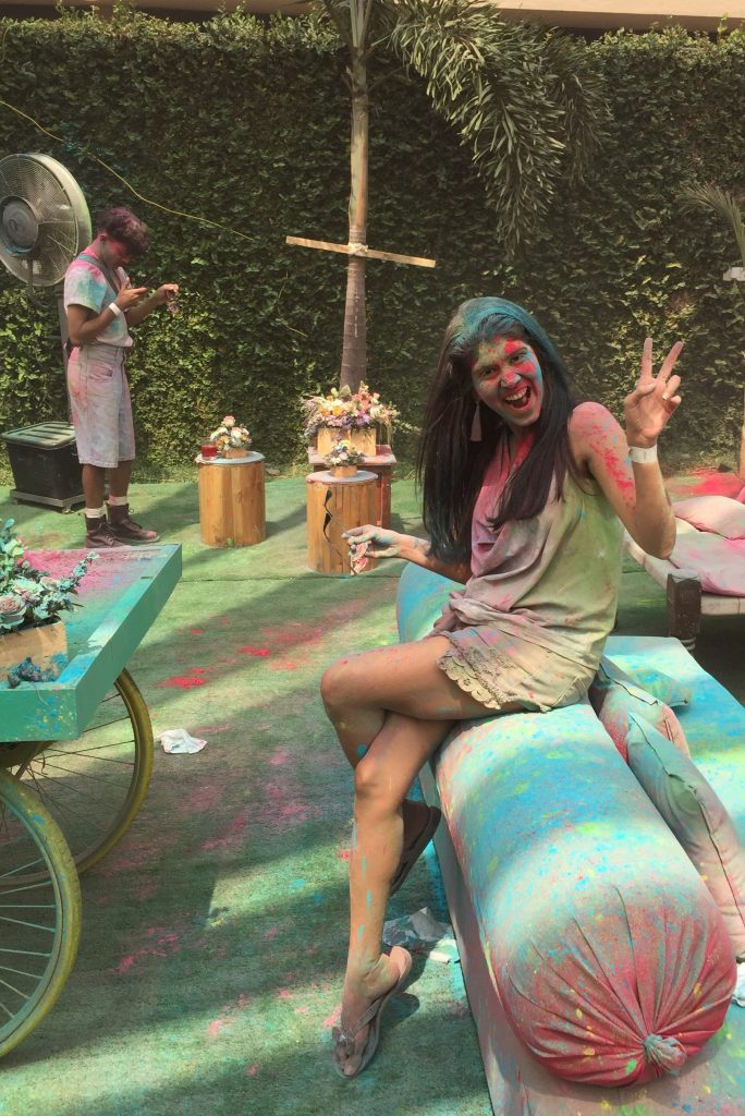Shruti Thacker celebrates Holi