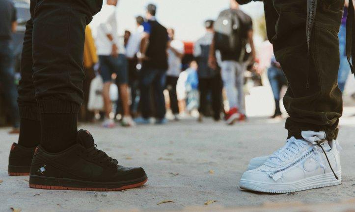 45f866bcdf70 Streetwear Fit – ACRONYM Nike AF1