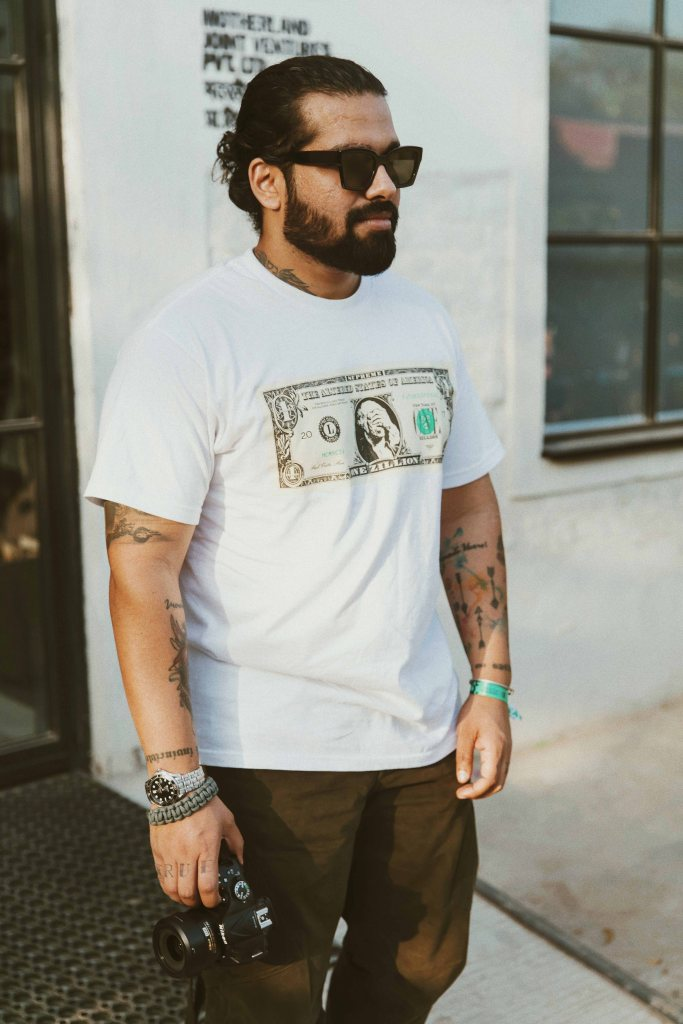Supreme Dollar Bill Tee