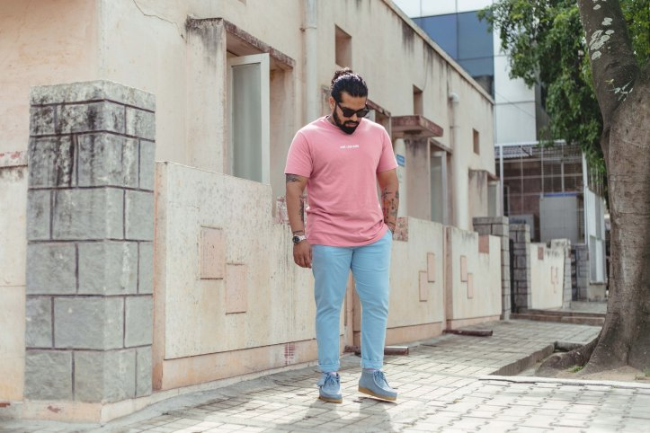 Pastel Colors Mens Lookbook