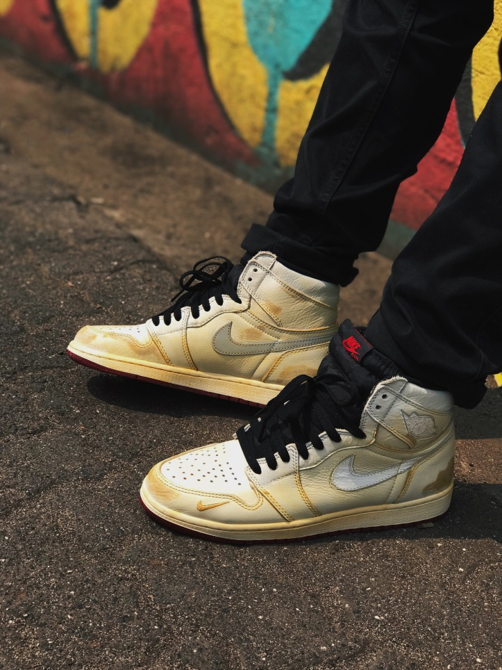 Nigel Sylvester Air Jordan 1