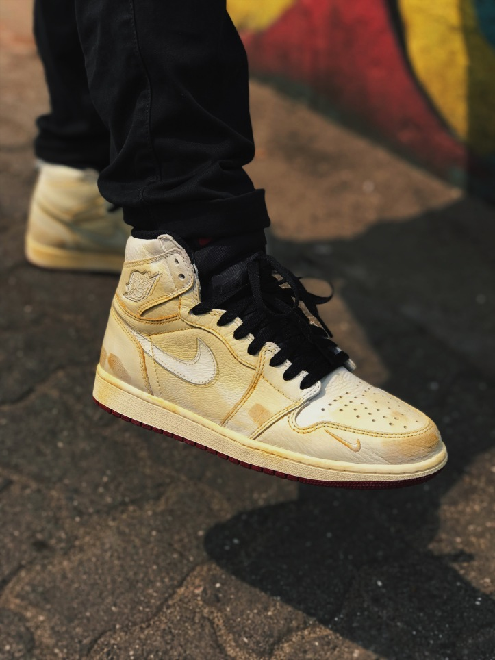Nigel Sylvester Air Jordan 1 Distressed