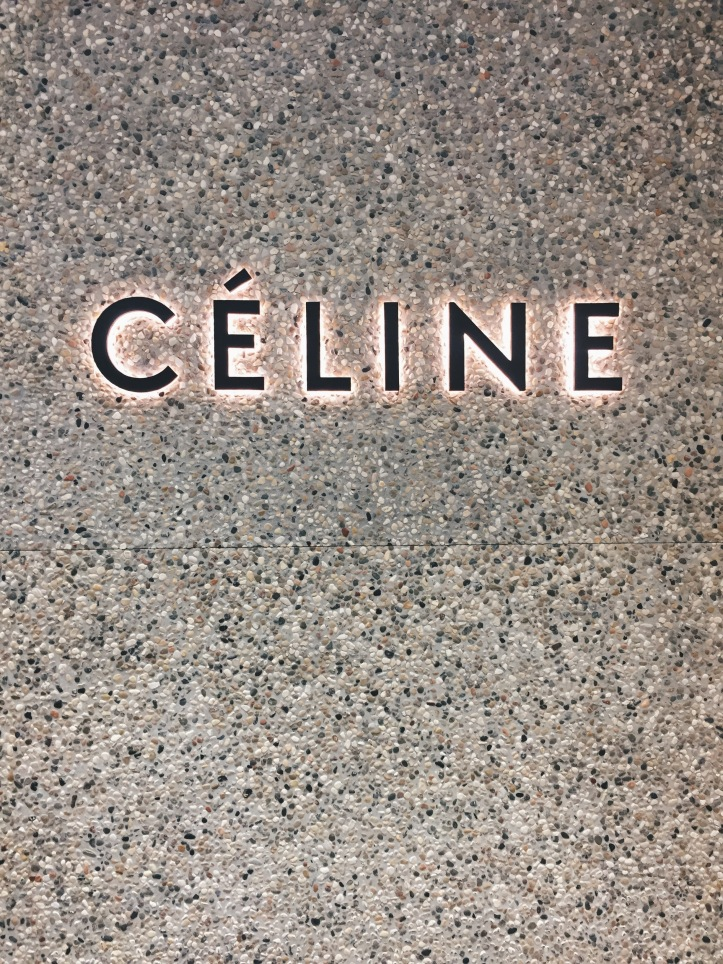 Celine in Hong Kong