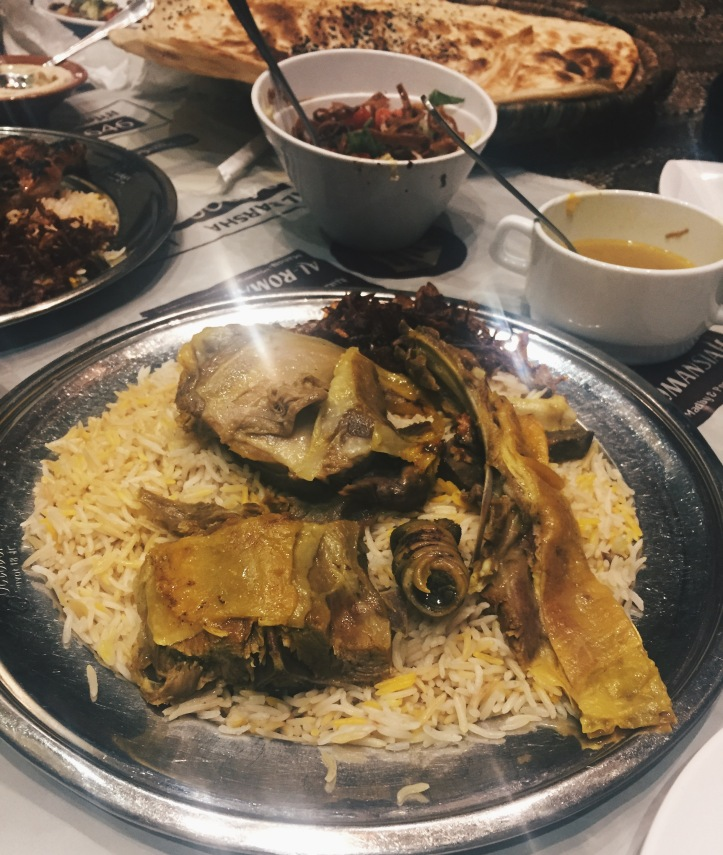 Mandi Rice at Al Romansiah