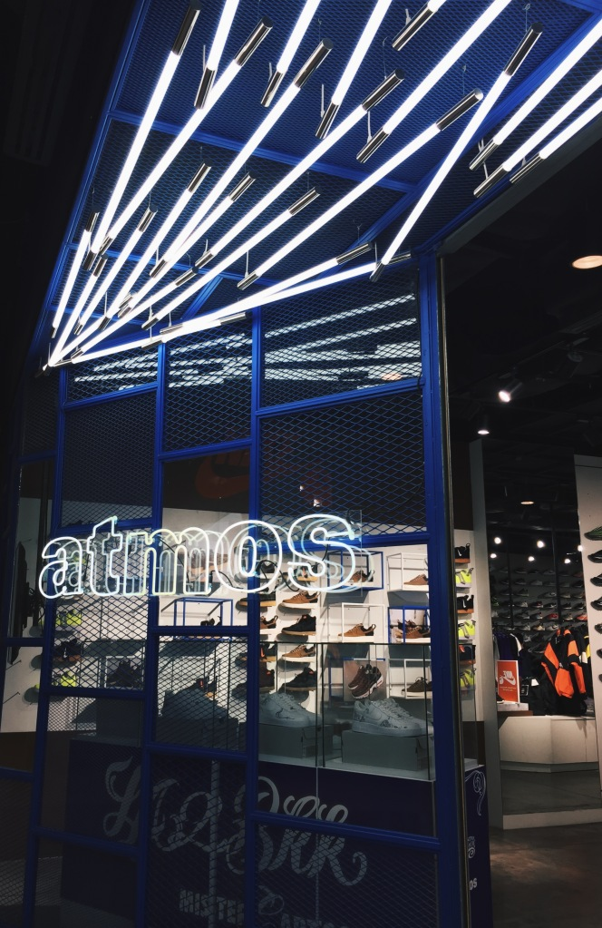 atmos sneaker shop