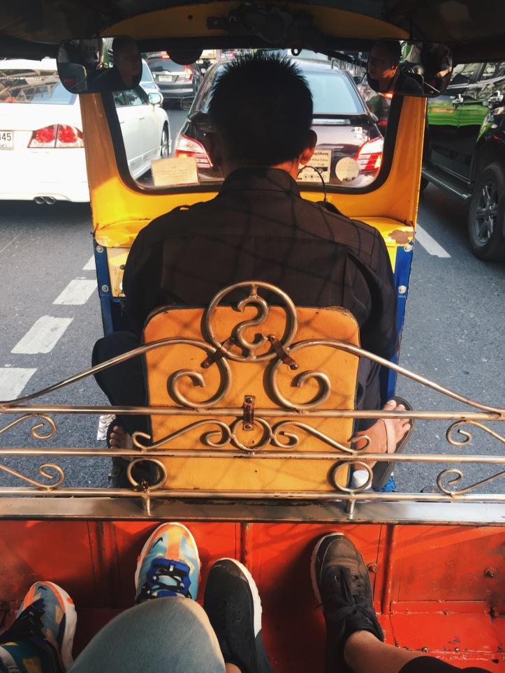 Tuk Tuk rides in Thailand