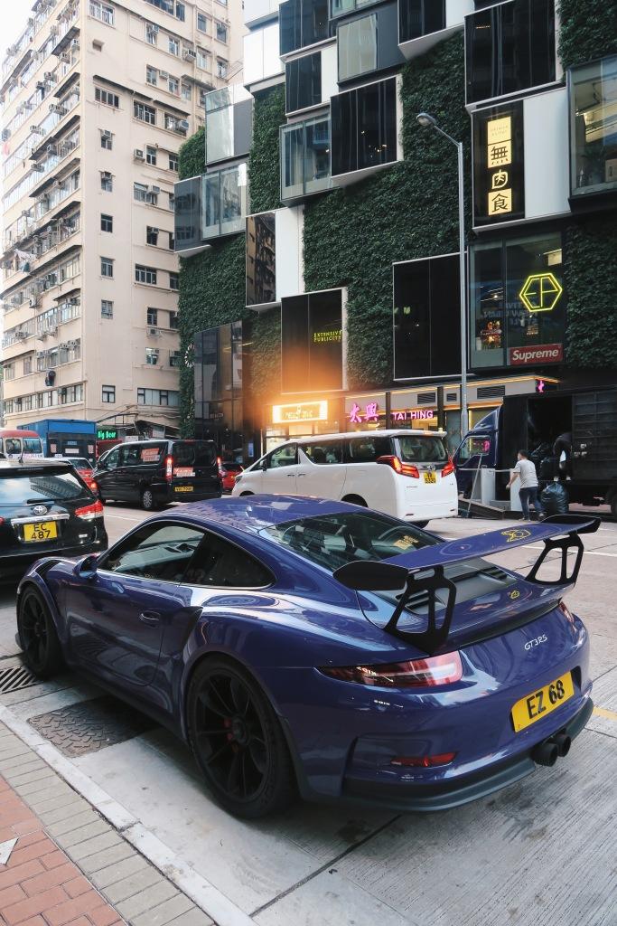 Porsche Cars in Hong Kong