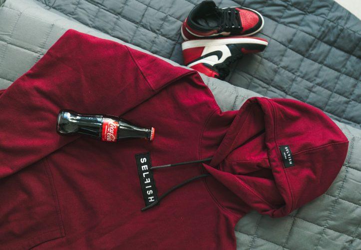 Selfish Streetwear brand hoodie