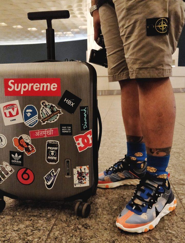 Indian Sneakerhead Allen Claudius