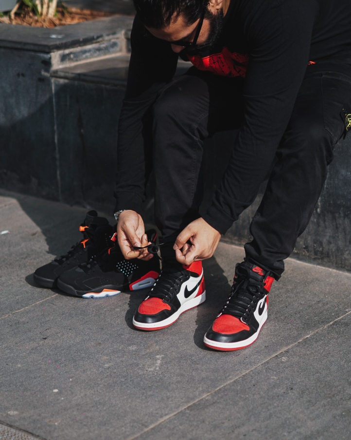 Bred Toe Air Jordan 1