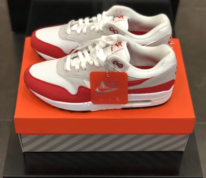 Air Max 1 Anniversary OG Sport Red
